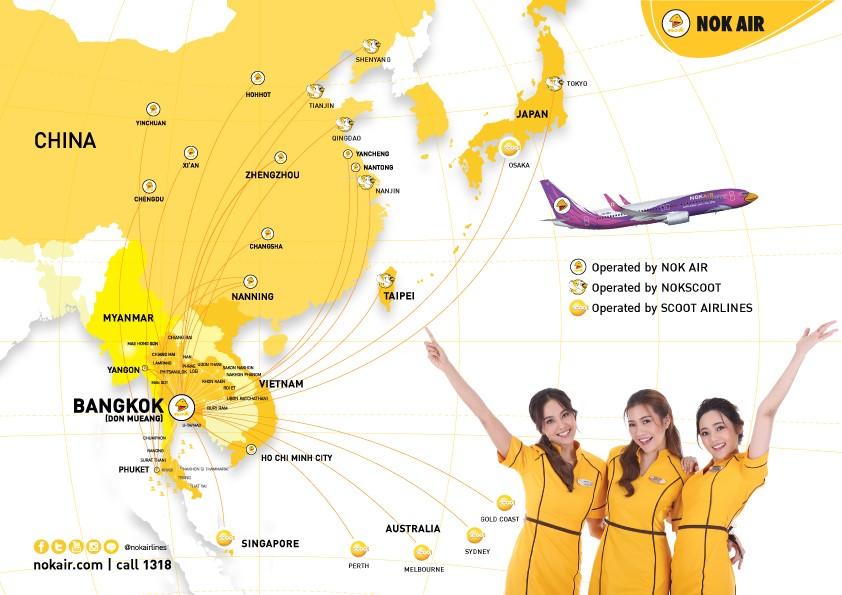 Where We Fly Nok Air